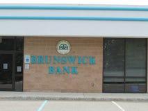 Brunswick banka logo na ścianie w NJ i znak, usa Ð ' Fotografia Royalty Free