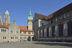 Brunswick Cathedral in Braunschweig Royalty Free Stock Photo