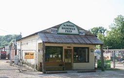 Brunswick Feed Store Stock Images