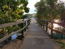 Brunswick geht Brücke voran Lizenzfreies Stockfoto