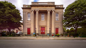 Brunswick-Gericht Bristol England Stockbild