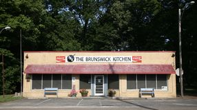 The Brunswick Kitchen Royalty Free Stock Images