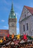 Brunswick, Niski Saxony, Niemcy, Grudzień 7th 2017: Stary holuje zdjęcie stock