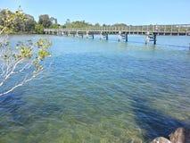 Brunswick River Crossing Royalty Free Stock Images