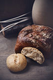 Brunt bröd Royaltyfria Foton