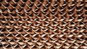 Brunt cellulosapappersblock eller avdunstnings- kyla block Fotografering för Bildbyråer