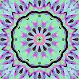 Brunt för blått för mintkaramell för stamgästrundablomning purpurfärgad rosa violett magentafärgad Fotografering för Bildbyråer