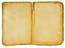 brunt gammalt papper Fotografering för Bildbyråer