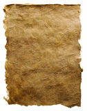 brunt gammalt papper Royaltyfri Foto