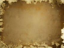 brunt gammalt papper för bakgrund stock illustrationer