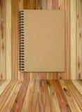 brunt golv för bok Royaltyfri Bild