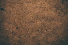 Brunt grovt tappningpapper Abstrakt bakgrund och textur för formgivare Gammal tappning återanvänt papper Grovt tappningpapper för Royaltyfri Fotografi