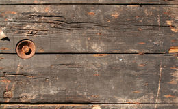 brunt grungy trä Arkivbild
