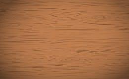 Brunt horisontalträklipp, skärbräda, tabell eller golvyttersida Trä texturerar stock illustrationer