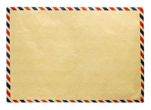 brunt kuvert Arkivbilder