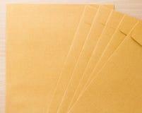 Brunt kuvert Royaltyfria Foton