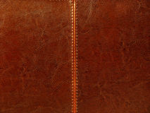 brunt läder Arkivfoton