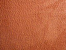 brunt läder Arkivbild