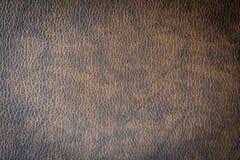 Brunt läder och yttersida Royaltyfri Fotografi