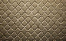 Brunt läder texturerar Arkivfoto