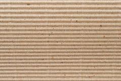 brunt lådapapper Arkivbilder