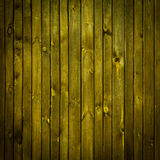 Brunt målad wood vägg Royaltyfria Bilder