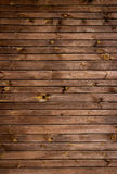 Brunt målad wood vägg Royaltyfri Foto