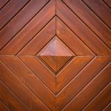 Brunt målad wood vägg Fotografering för Bildbyråer