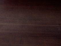 brunt mörkt texturträ Bakgrund och textur av trä för mörk brunt Fotografering för Bildbyråer
