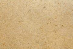 Brunt naturligt handgjort papper Arkivfoto