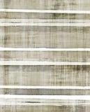 Brunt och beiga abstrakta Art Painting stock illustrationer