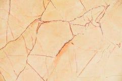 Brunt och guld- marmortextur Arkivfoto