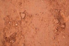 Brunt och torr jordtexturbrunt Royaltyfri Bild