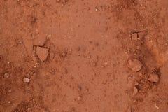 Brunt och torr jordtexturbrunt Fotografering för Bildbyråer