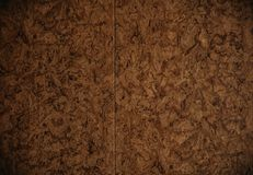 Brunt pappark av pappers- bakgrundstextur royaltyfri foto