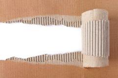 brunt papper Royaltyfri Fotografi
