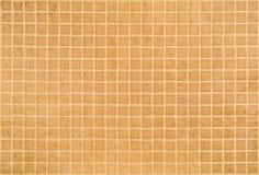 Brunt papper med fyrkanter Arkivbild