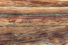Brunt staket med antikviteten, naturblick Wood tapet, backgroun royaltyfri fotografi