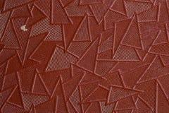 Brunt texturerade hudtextur Royaltyfri Foto