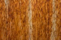 brunt texturträ Arkivfoto
