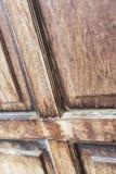Brunt trä Royaltyfri Fotografi