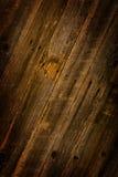 brunt trä för ladugård Arkivfoto