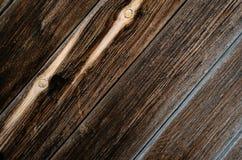 Brunt trä för textur Royaltyfria Bilder