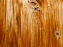 Brunt trä med den vita linjen Royaltyfria Bilder