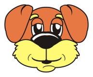 brunt tystar ned hunden Royaltyfri Bild