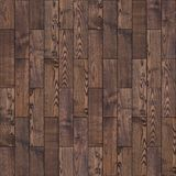 Brunt Wood parkettgolv. Sömlös textur. Royaltyfria Bilder