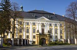 bruntal城堡捷克共和国 免版税库存照片