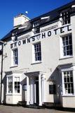 Brunts hotell Arkivfoto