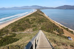 Bruny Island lookout Royalty Free Stock Photography