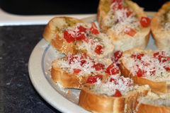 Bruschetta 1 Royalty Free Stock Photography